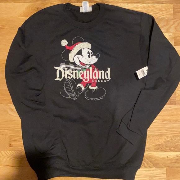 BNWT, Disneyland resort youth crewneck sweatshirt